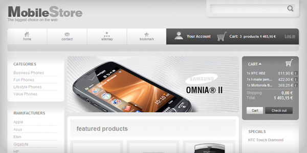 theme-prestashop-1.3-mobile-store