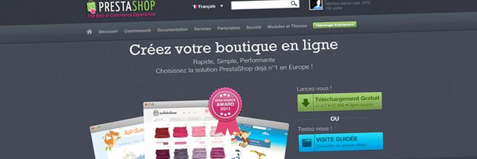 Nouveau site pour votre freelance PrestaShop & WordPress