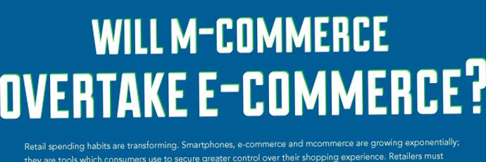 Infographie : le m-commerce va-t-il dépasser le e-commerce ?