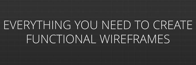 5 magnifiques outils pour créer des wireframes