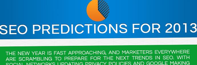 Les prédictions du référencement pour 2013 en infographie
