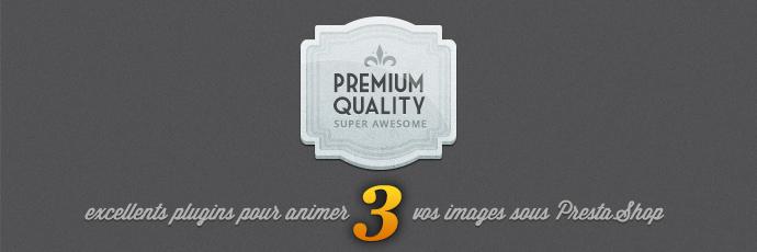 3 excellents plugins pour animer vos images dans PrestaShop