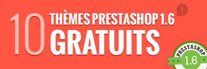 10 Splendides Thèmes PrestaShop 1.6 gratuits