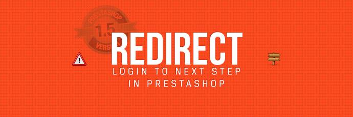 Tuto PrestaShop : Rediriger après login vers étape suivante