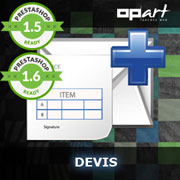 Module devis PrestaShop