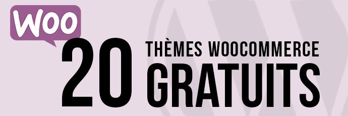 20 Thèmes WooCommerce gratuits et magnifiques