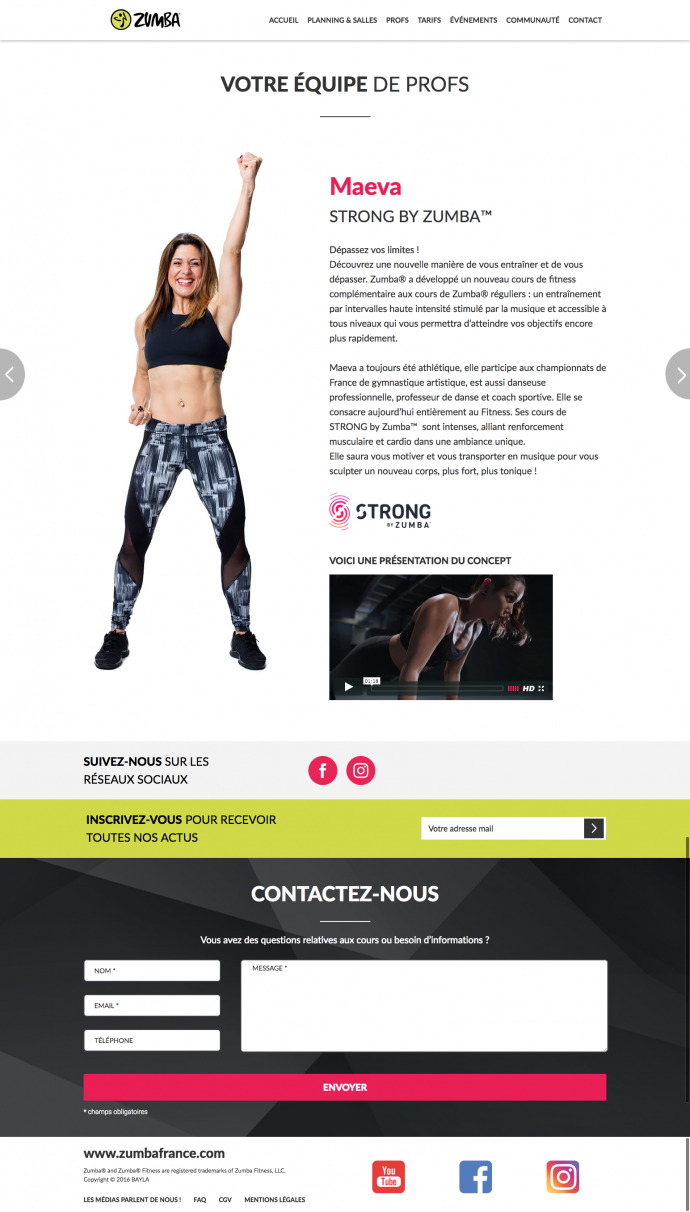 prof-integration-wordpress-zumba