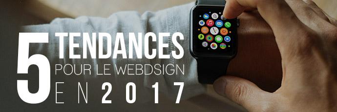 5 Tendances webdesign e-commerce pour 2017
