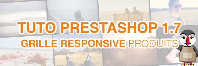 [PrestaShop 1.7] Comment afficher la liste produits avec une grille responsive ?