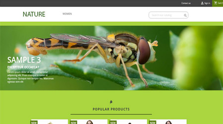 theme-prestashop-1.7-gratuit-nature