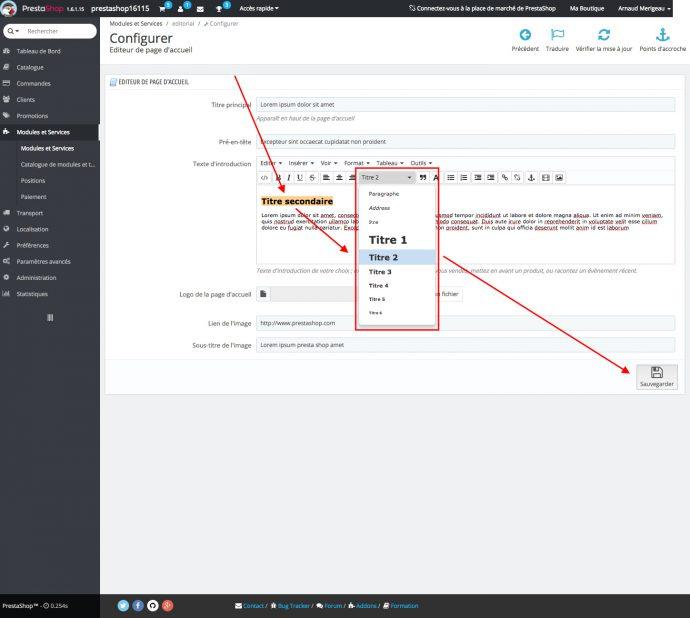 améliorer référencement prestashop 1.6