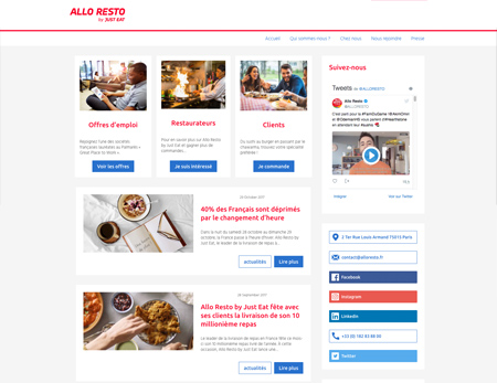 Corporate by Just Eat - Allo Resto