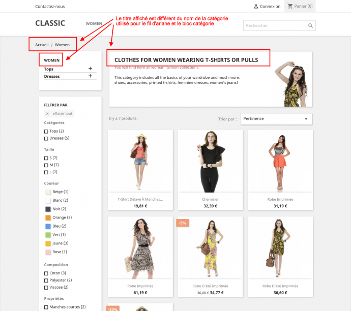 prestashop 1.7 ajouter champ categories