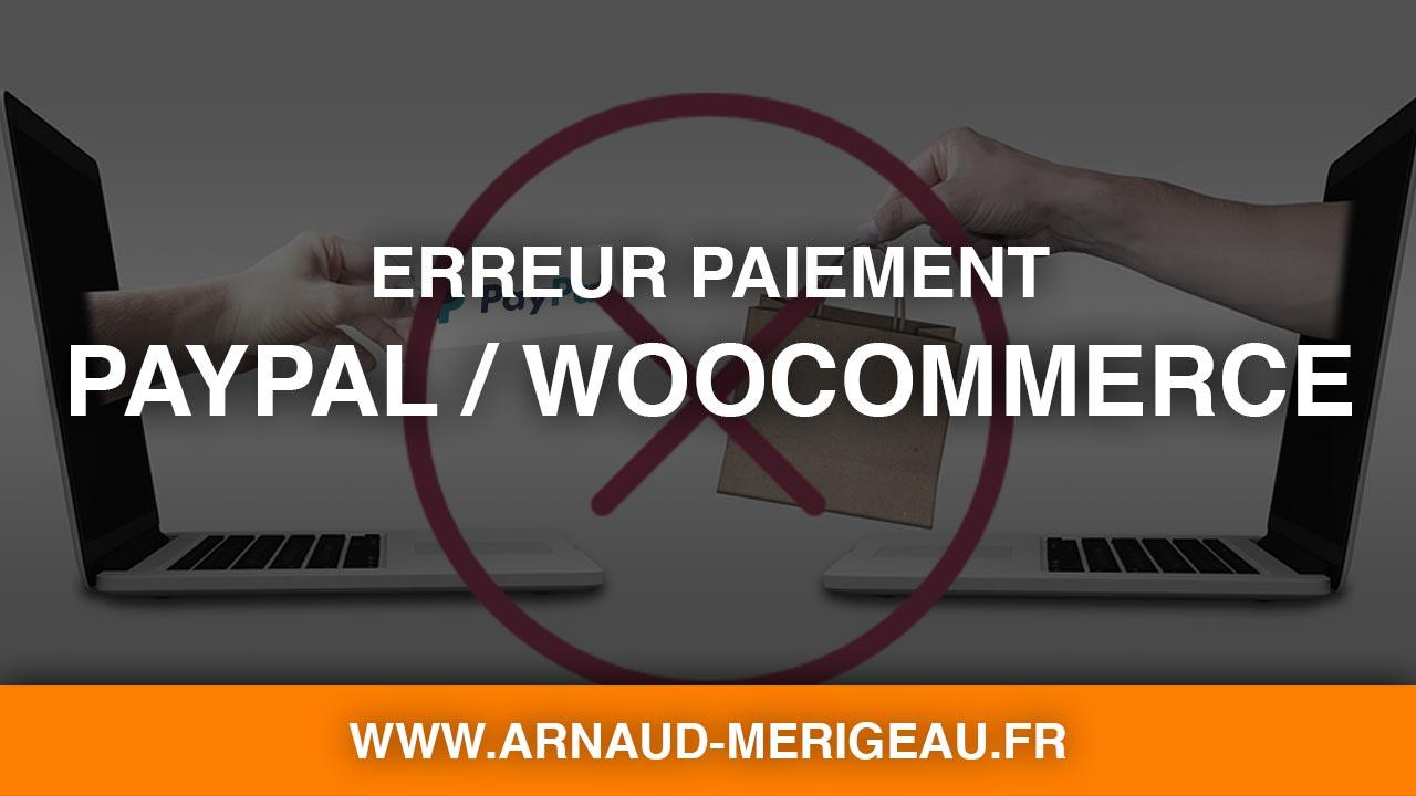 [WooCommerce] Commande PayPal invalide si quantité avec décimales