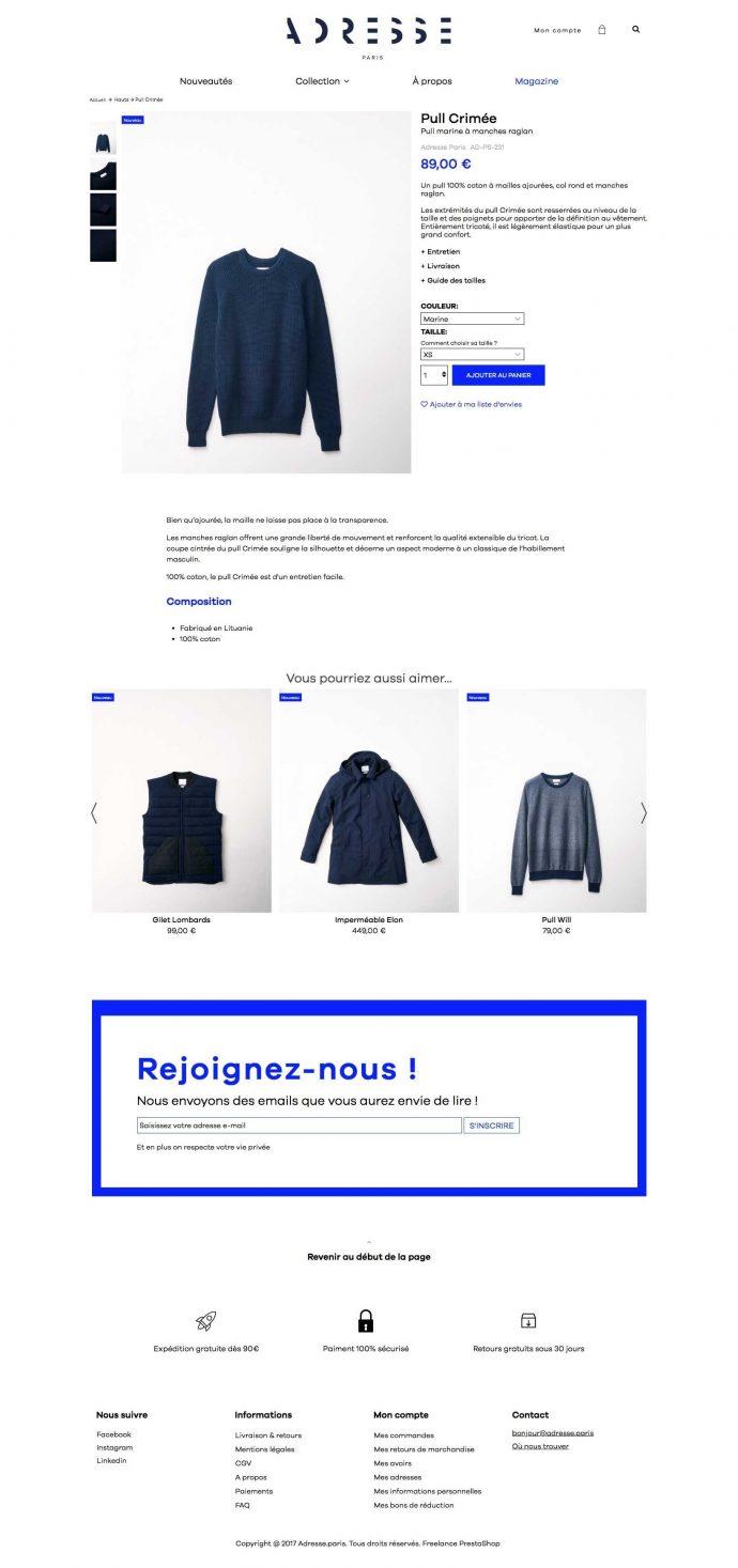 adresse.paris-prestashop-produit