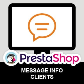 module-prestashop-message-information