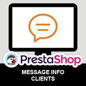 module-prestashop-message-information