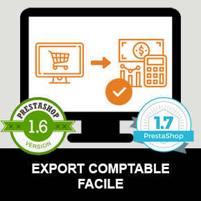 Module PrestaShop 1.5 / 1.6 / 1.7 Export Comptable