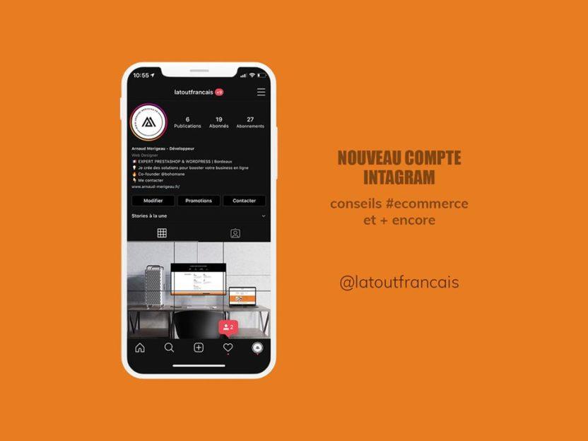 Nouveau compte Instagram Latoufrancais