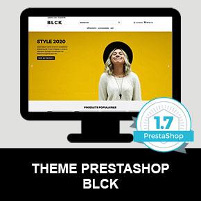 thème PrestaShop 1.7 responsive blck